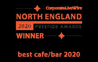 North England Prestige Awards - Winner of Best Cafe/Bar 2020